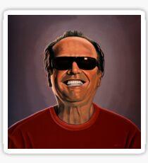 Jack Nicholson 2 Painting Sticker