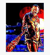 Walking Dead Negan-Eeny Meeny Miney Mo Photographic Print