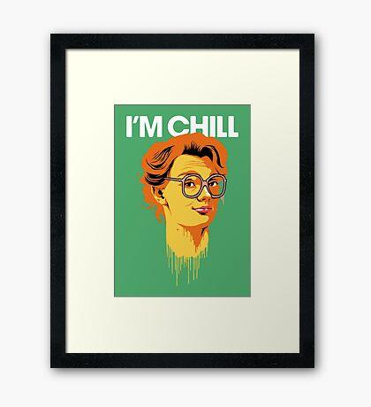 Chill Barb Framed Print