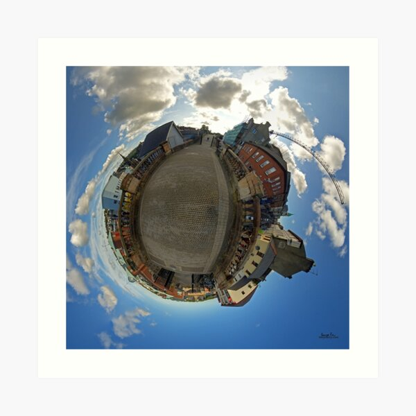 City Walls of Derry at Ferryquay Gate Art Print