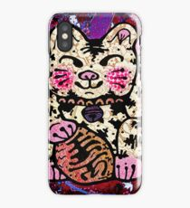 'Shiny Lucky Cat #2' iPhone Case/Skin