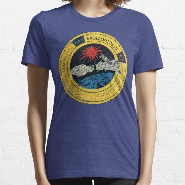 Apollo Soyuz Vintage Emblem Essential T-Shirt