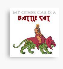 Battle Cat Canvas Print