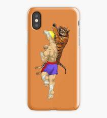 Tiger Uppercut iPhone Case/Skin