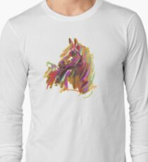 Cool T shirt  Horse  true colors Long Sleeve T-Shirt