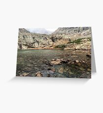 Peacock Lake, Colorado. Greeting Card