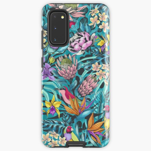 Stand Out! (cool teal) Samsung Galaxy Tough Case