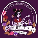 Muffet's Spider Bakery (dark background only) by Kravache
