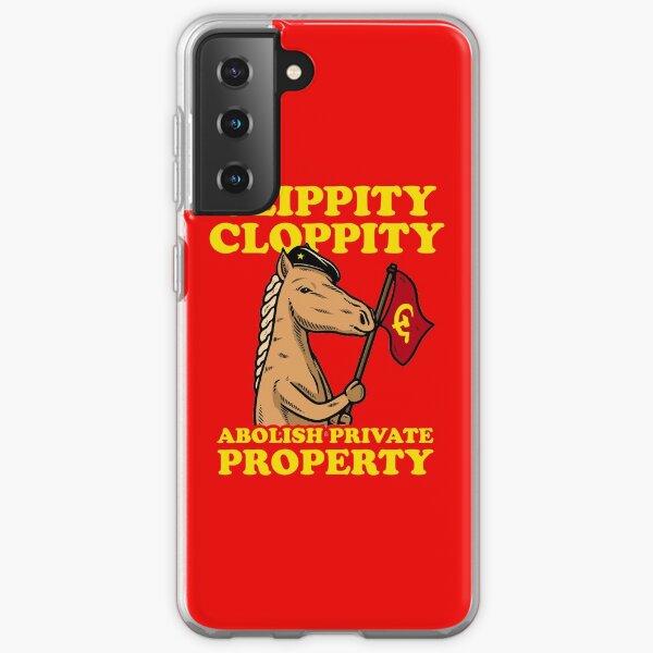 Clippity Cloppity Abolish Private Property Samsung Galaxy Soft Case