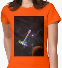 Sonic Spaceboom Womens Fitted T-Shirt