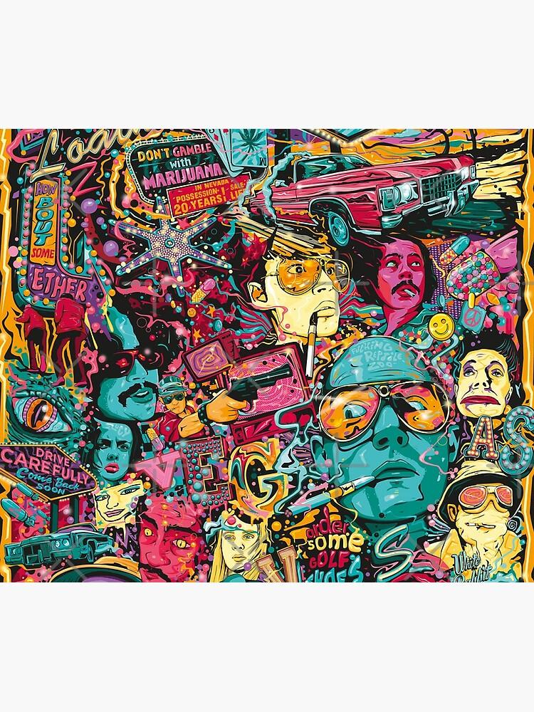 Fear and Loathing Las Vegas Art by einsteinjackson