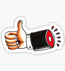 Severed Thumbs Up Sticker
