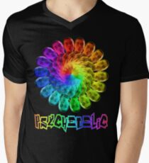 Psychedelic Men's V-Neck T-Shirt