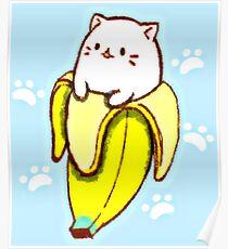 cat banana posters redbubble