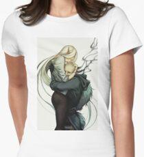 Den Sünder lieben Tailliertes T-Shirt