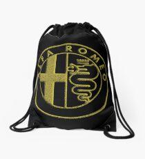 LOGO ALFA ROMEO GOLD Drawstring Bag
