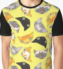 """""""Oro?"""" Cats-Canary Graphic T-Shirt"""