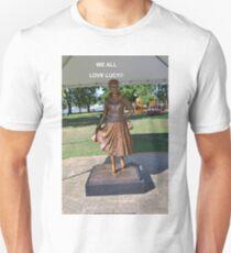 Lucille Ball Statue. T-Shirt