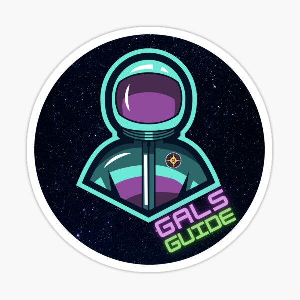 Cool Astronaut Sticker
