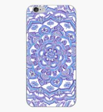 Lilac Spring Doodle Flower iPhone Case