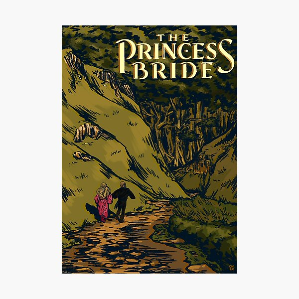 """The Princess Bride"" Poster Photographic Print"