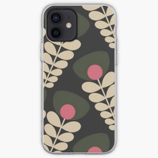 orla kiely floral Coque souple iPhone