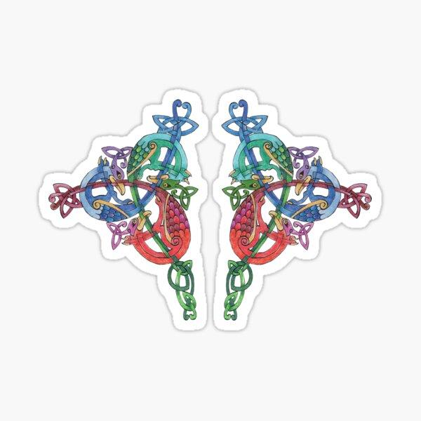 3 Hawks Triskele Sticker