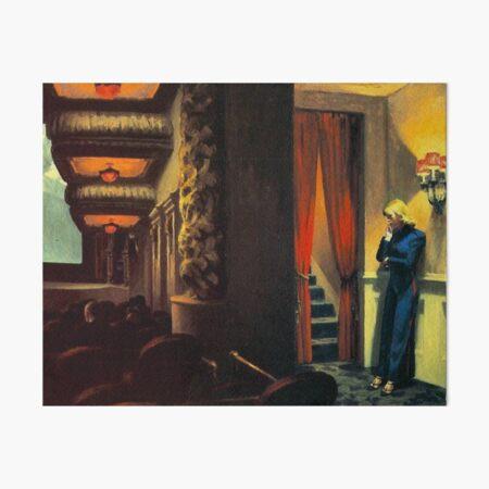 Edward Hopper - New York Movie Art Board Print