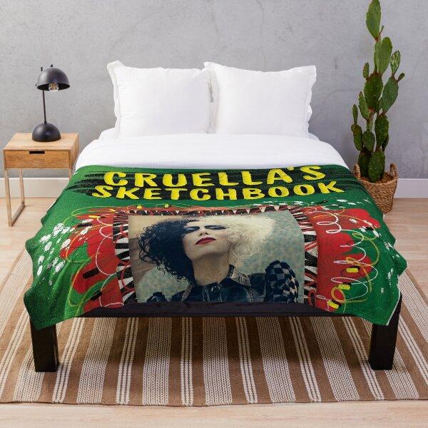 cruella 2021 Throw Blanket