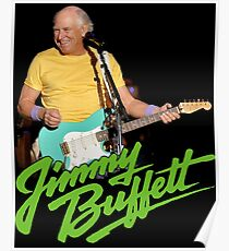 SAN01 Jimmy Buffett and the Coral Reefer Band TOUR 2016 Poster
