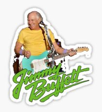 SAN01 Jimmy Buffett and the Coral Reefer Band TOUR 2016 Sticker