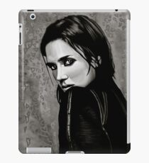 Jennifer Connelly Painting iPad Case/Skin