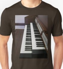 Pulling Out All The Stops - Organ Keyboards and Stops T-Shirt