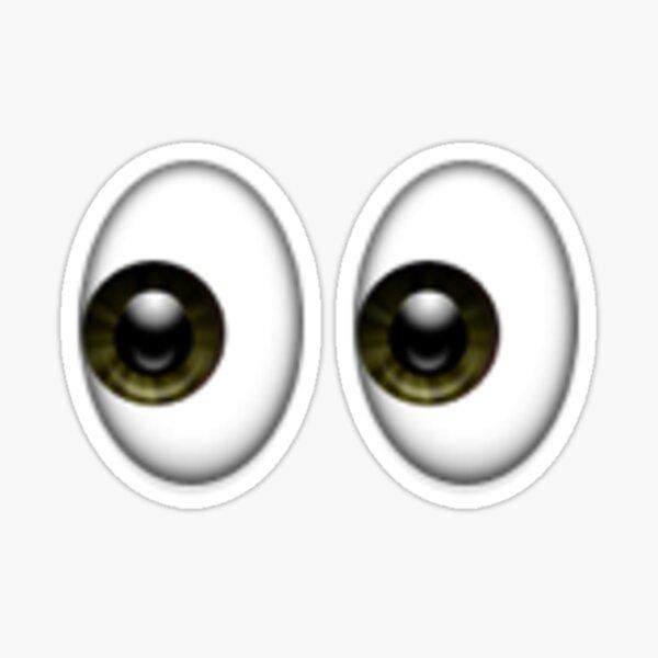 Ojos Emoji Pegatina
