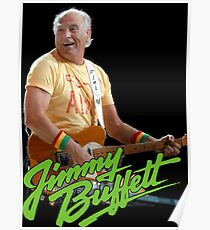 SAN02 Jimmy Buffett and the Coral Reefer Band TOUR 2016 Poster