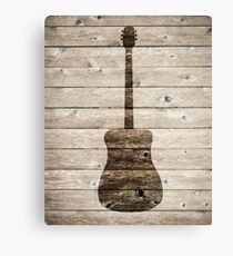 Classic Guitar Canvas Print