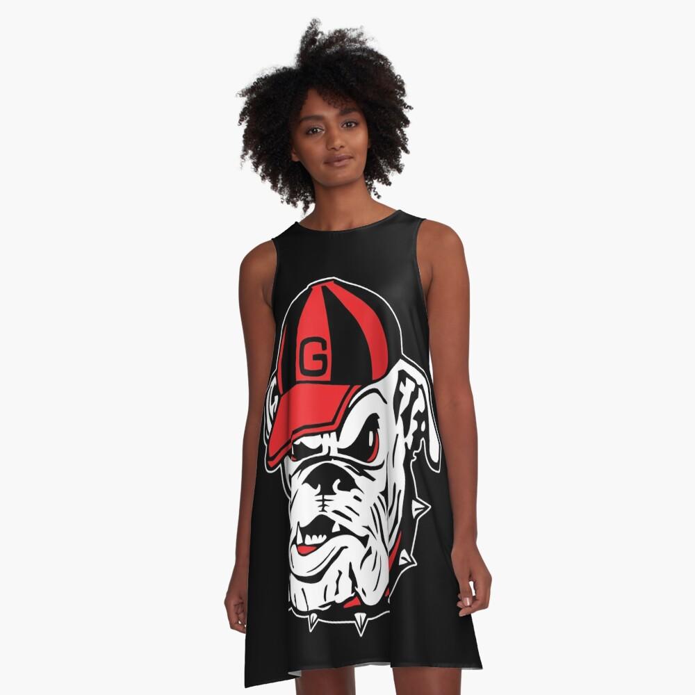 UGA Bulldog A-Line Dress