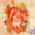 Waterolor Squirrel by Andre Gascoigne