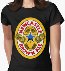 Brown Ale Newcastle  Women's Fitted T-Shirt