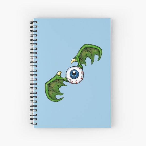 Demon Winged Eyeball Spiral Notebook
