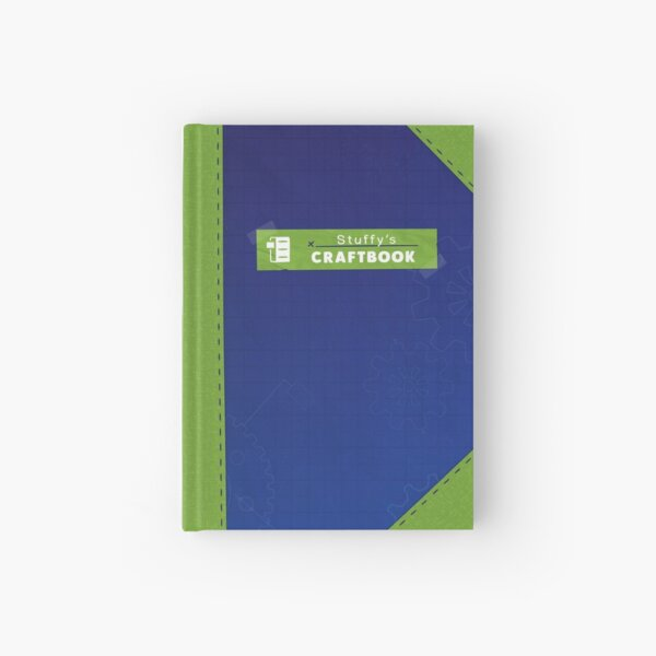 Restitched - Stuffy's Craftbook (Green) Hardcover Journal