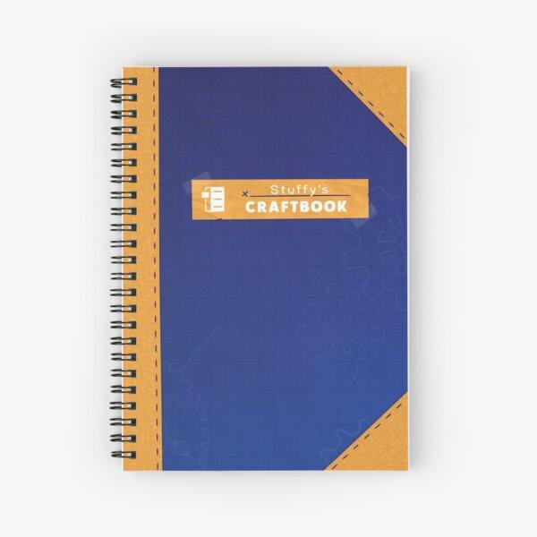 Restitched - Stuffy's Craftbook (Golden) Spiral Notebook