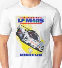 """""""LE MANS"""" Vintage Grand Prix Auto Racing Print Unisex T-Shirt"""