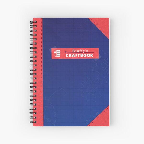 Restitched - Stuffy's Craftbook (Orange) Spiral Notebook
