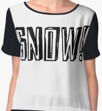 SNOW Women's Chiffon Top