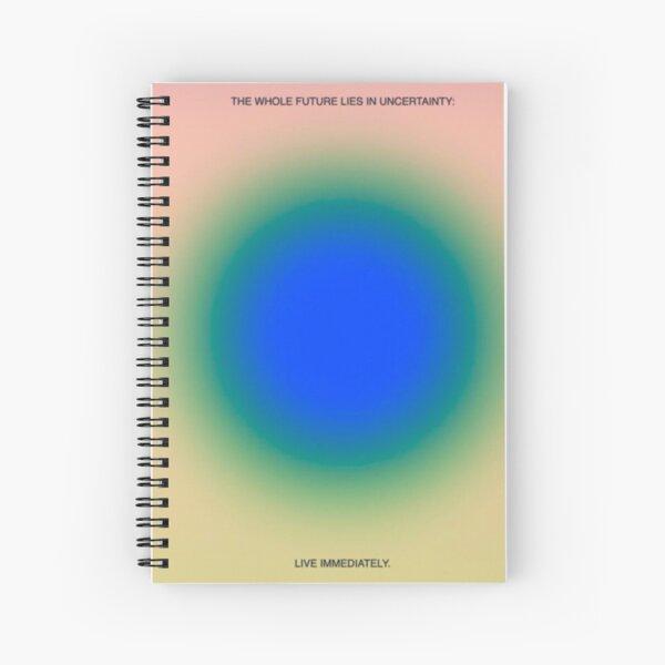 aura quote Spiral Notebook