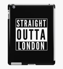 Straight Outta London iPad Case/Skin