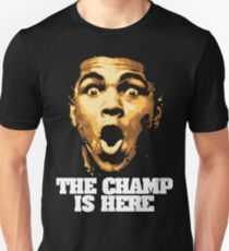 I am Ali The Champ Is Here Unisex T-Shirt