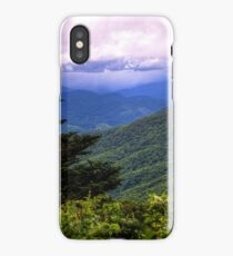 Yellow Face Overlook - Blue Ridge Parkway iPhone Case/Skin