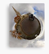 St Columb's Cathedral from Derry's Walls at Church Bastion, Derry Canvas Print